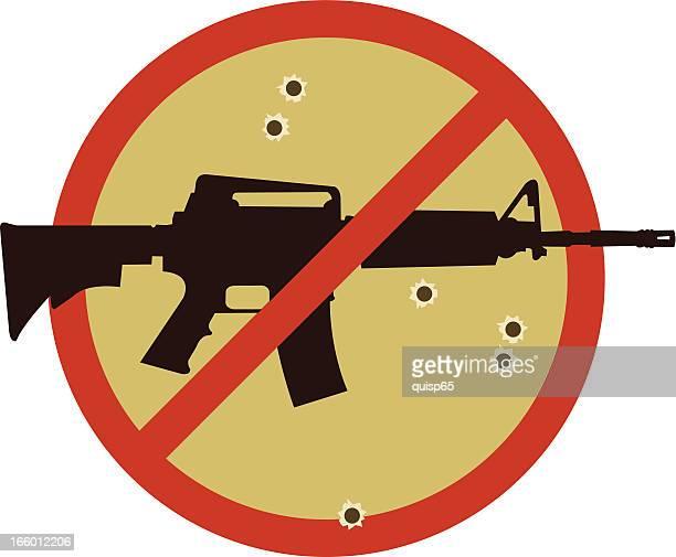 Anti Assault Weapon Symbol