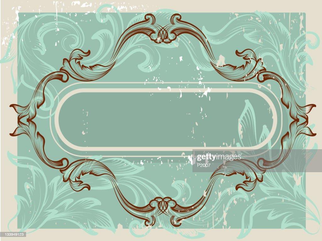 Antique Frame : Vector Art