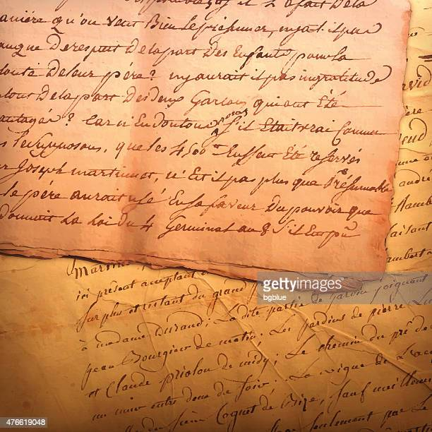 Antike Buchstaben