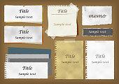 Antique notepad