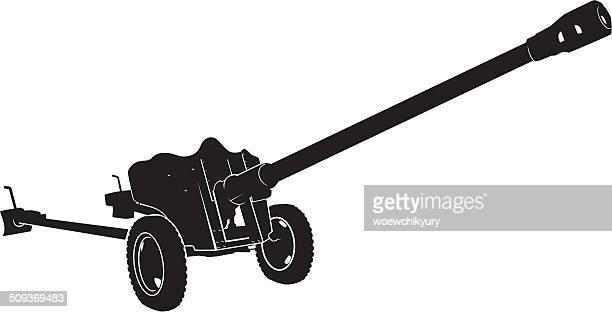 アンチタンクゴンモ - 大砲点のイラスト素材/クリップアート素材/マンガ素材/アイコン素材