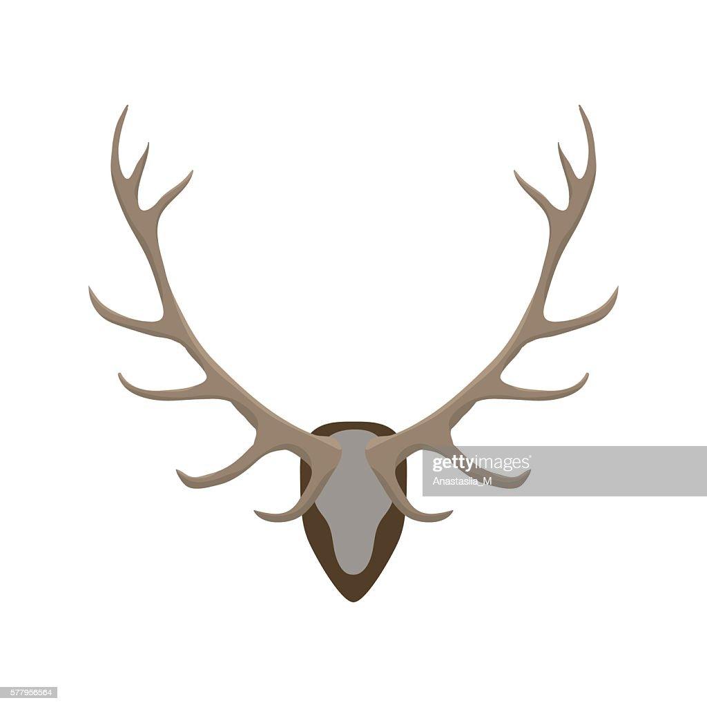 Antlers vector illustration