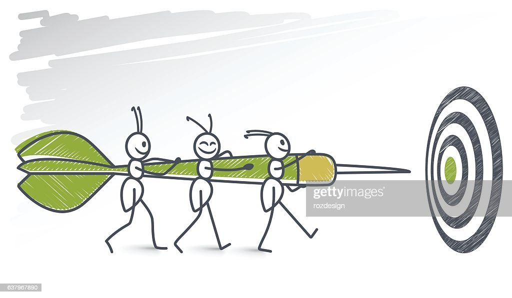 Ants carrying a picado