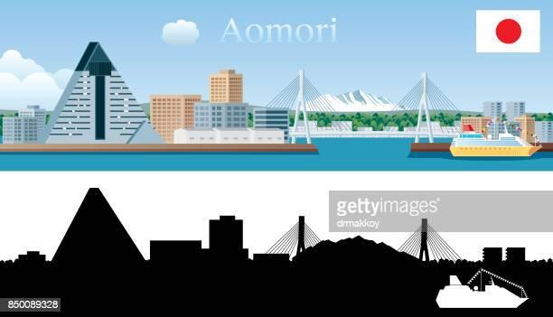 Skyline von Aomori
