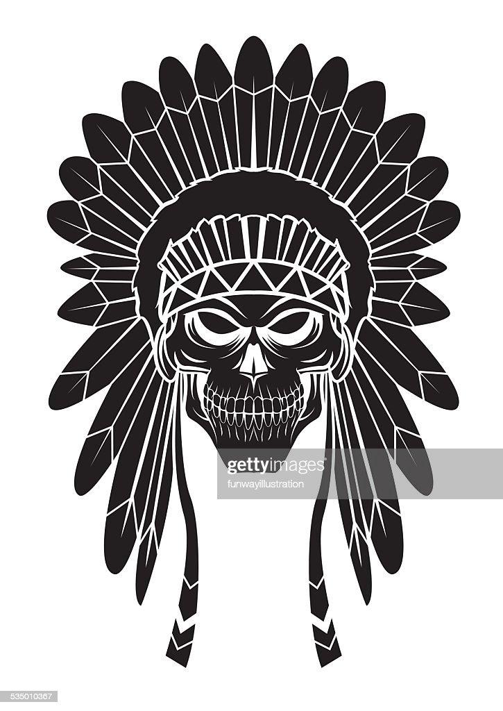 Apache Head Tattoo Vektorgrafik Getty Images