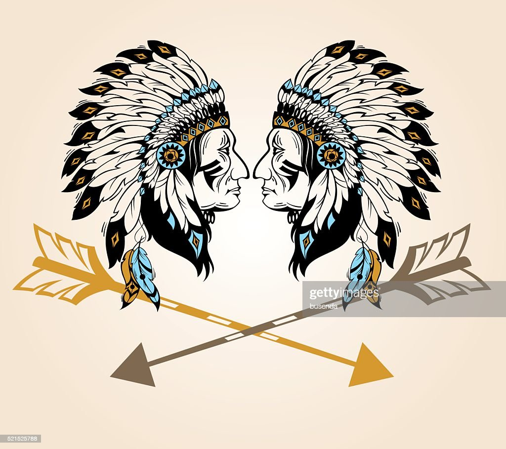 Apaches Mascot For Your Design