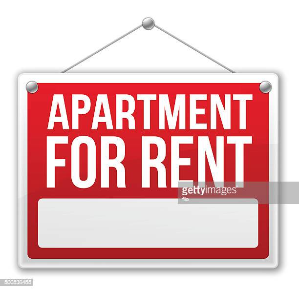 Apartment House For Rent: House Rental Stock Illustrations And Cartoons