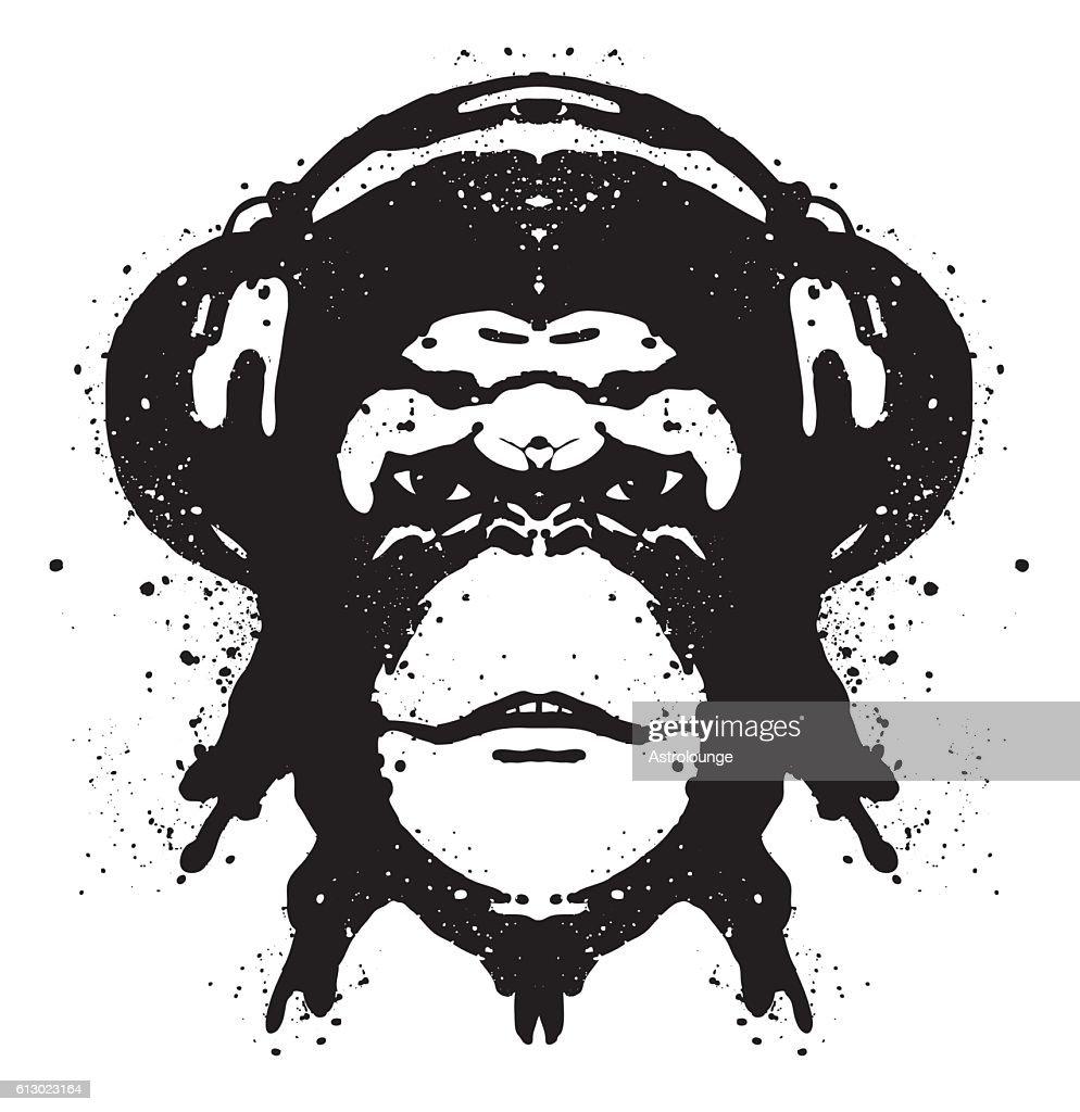Ape Portrait