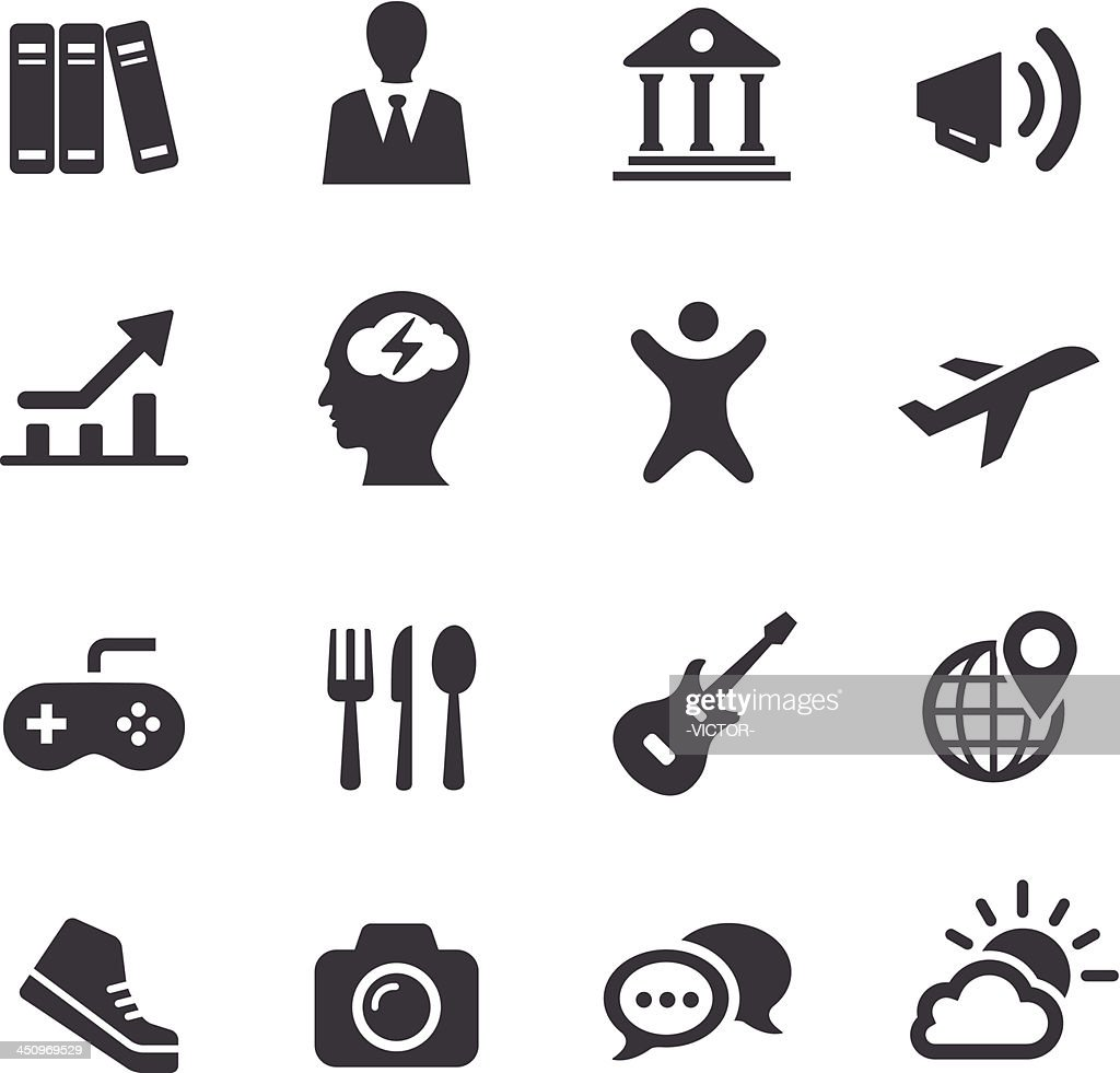 App and software categories Icons - Acme Series