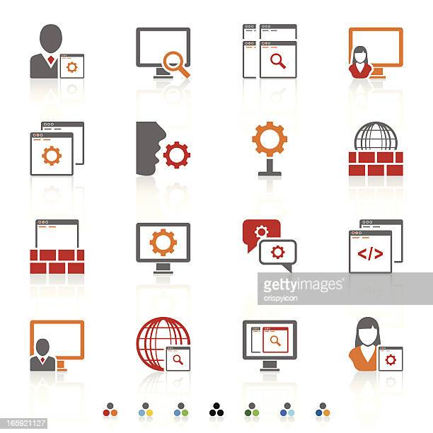 app icons - assistant stock illustrations, clip art, cartoons, & icons
