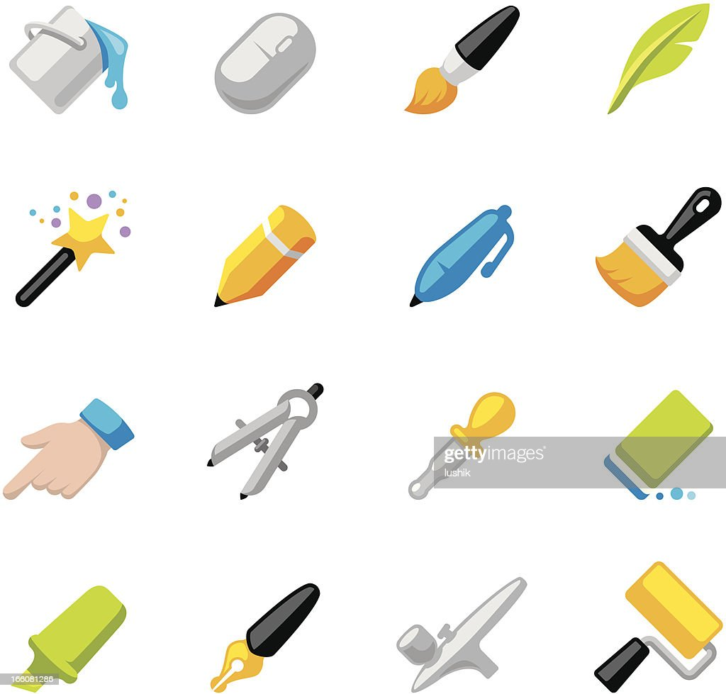 Appico icons — Art and Craft Equipment