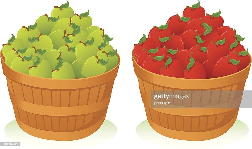Apple baskets