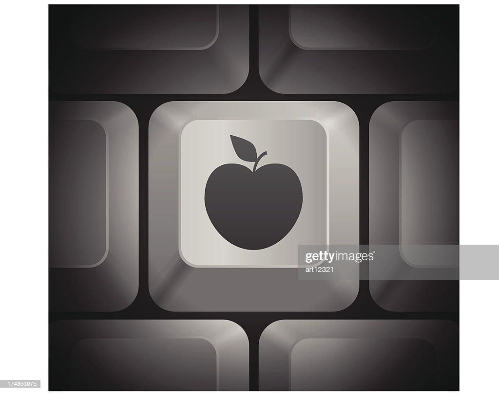 Apple Icon on Computer Keyboard
