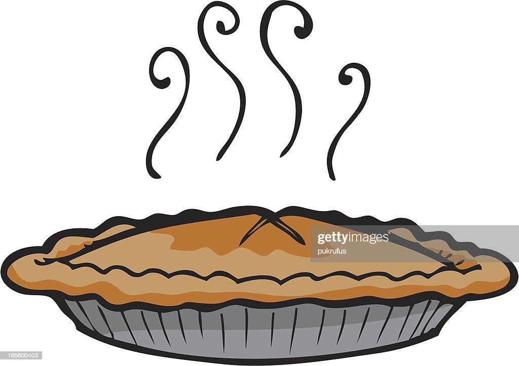 Apple Pie : Stock Illustration