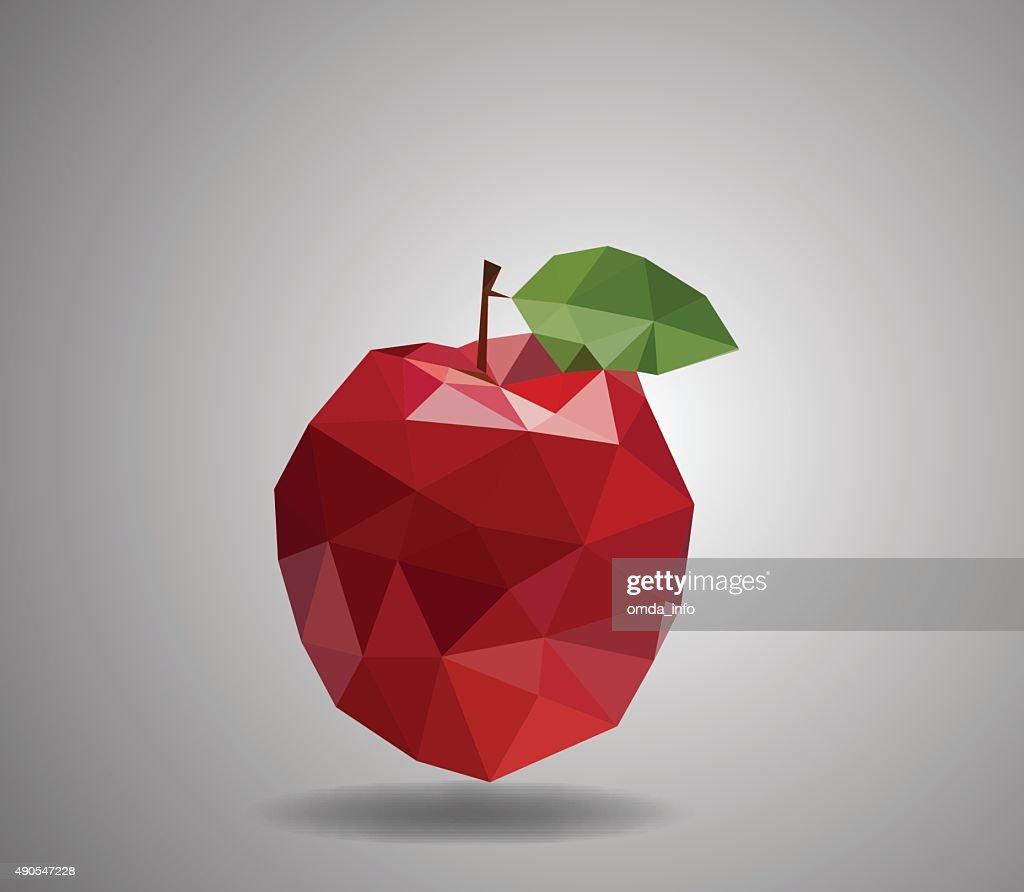 Apple polygon style