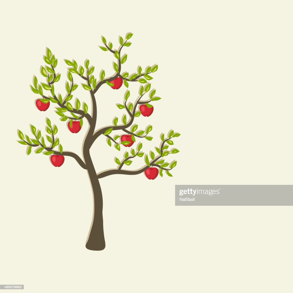 apple tree background
