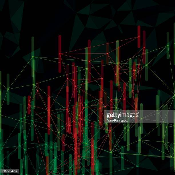 Apple Tree Vector Network Bar Chartmuster