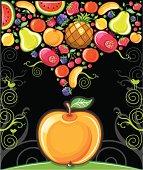 apple (fruity series)