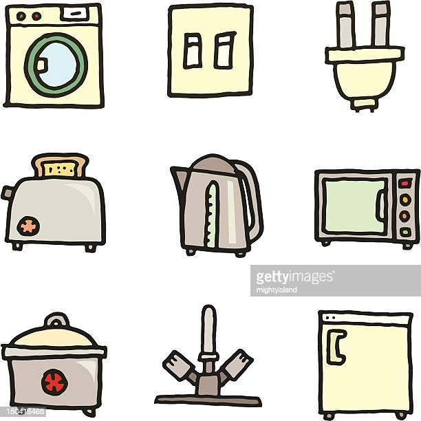 Appliance doodles