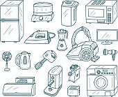 Appliances Doodles