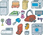 Appliances Doodles