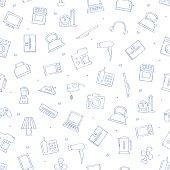 Appliances icons pattern