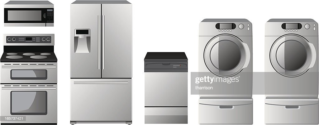 Appliances : stock illustration