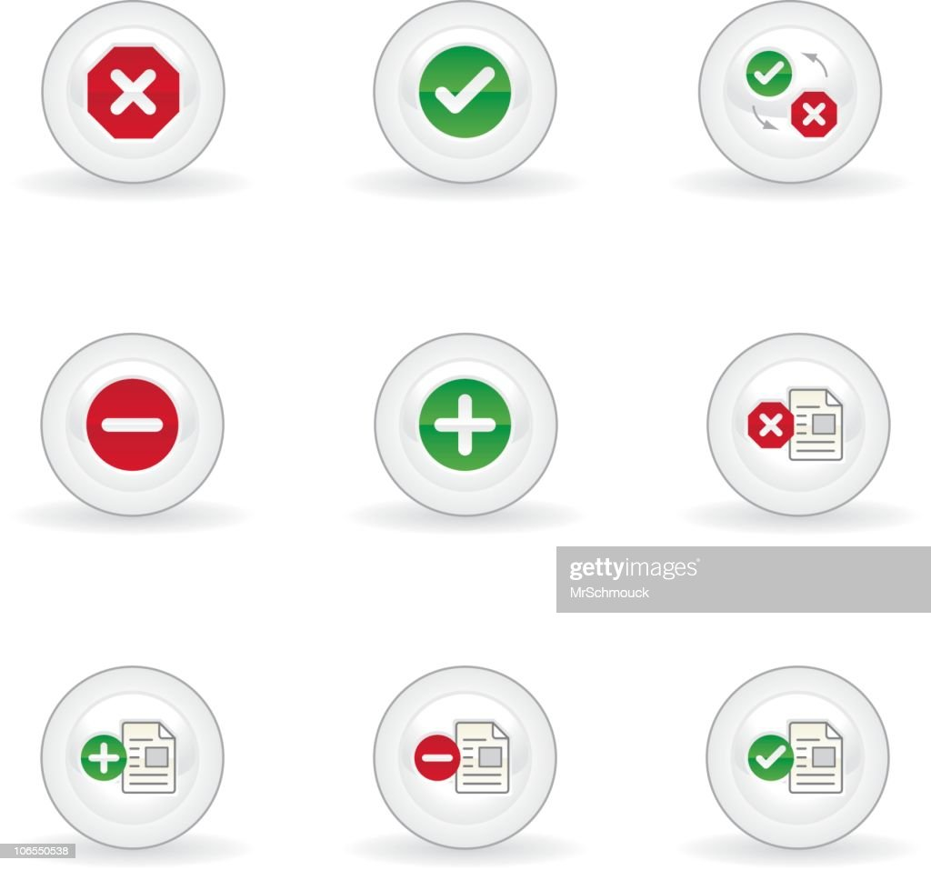 Application buttons