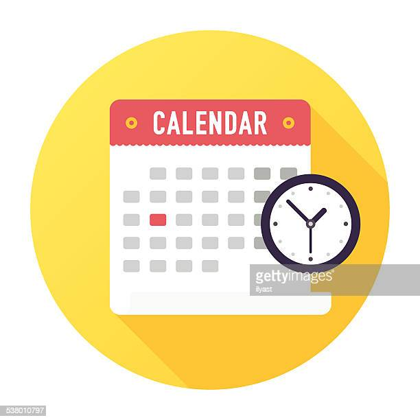 appointment icon - calendar date stock illustrations