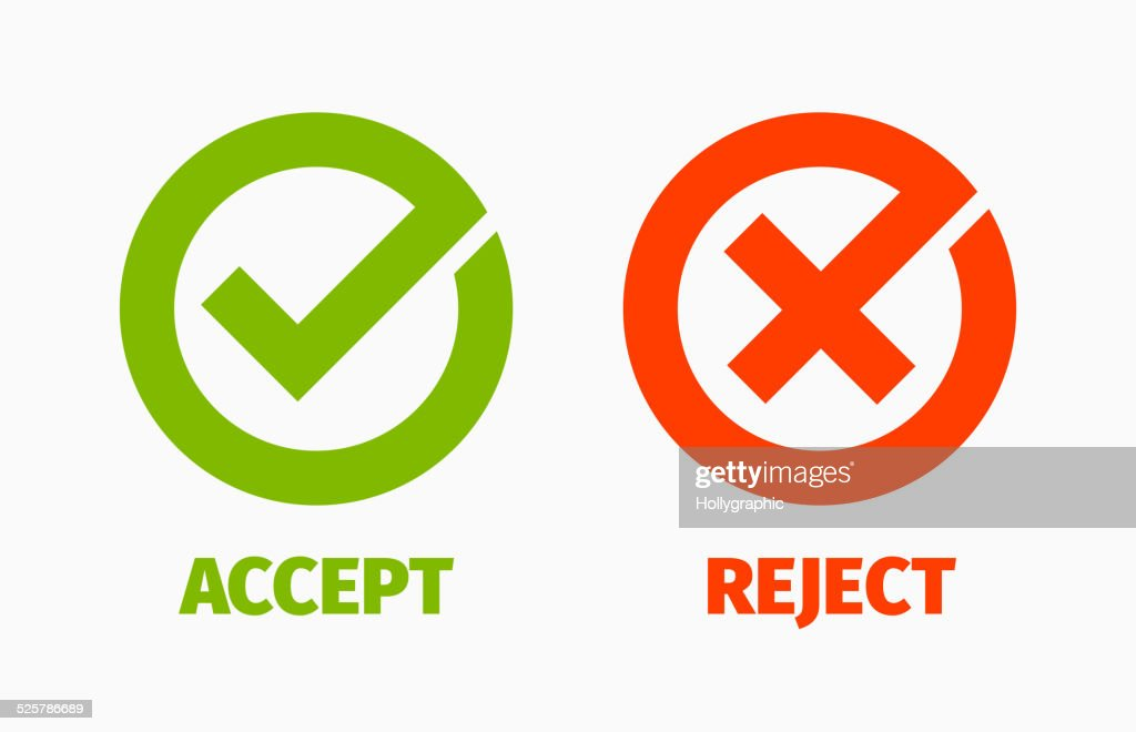 Approved and Rejected Marks