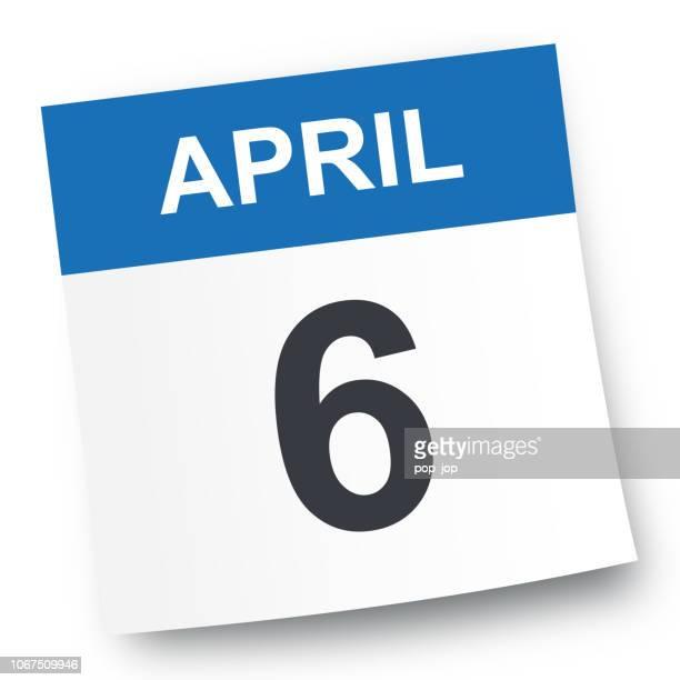 6. April - Kalender-Symbol