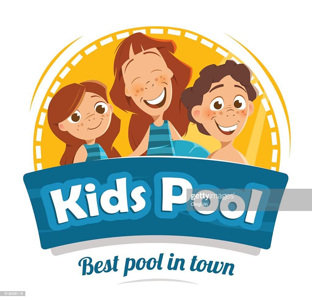 Aqua Park Swimming Pool Logo Design