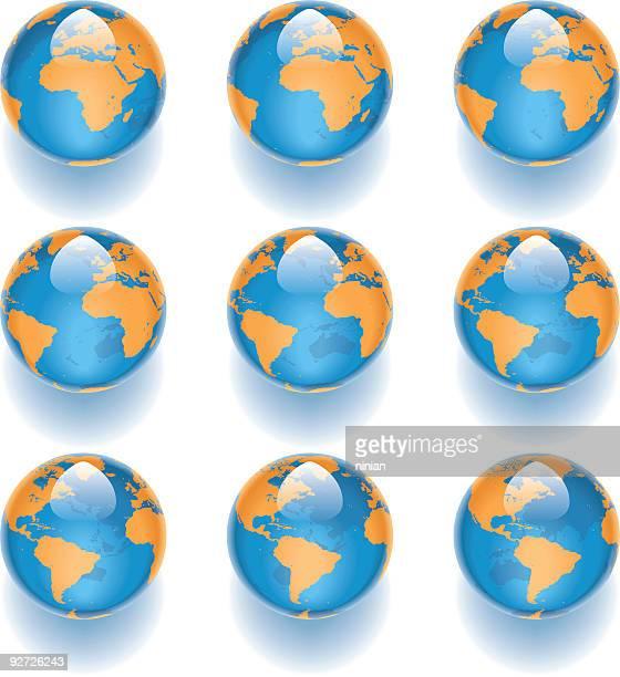 Aqua World Globes 02