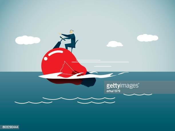 aquatic sport - motorboating stock illustrations, clip art, cartoons, & icons