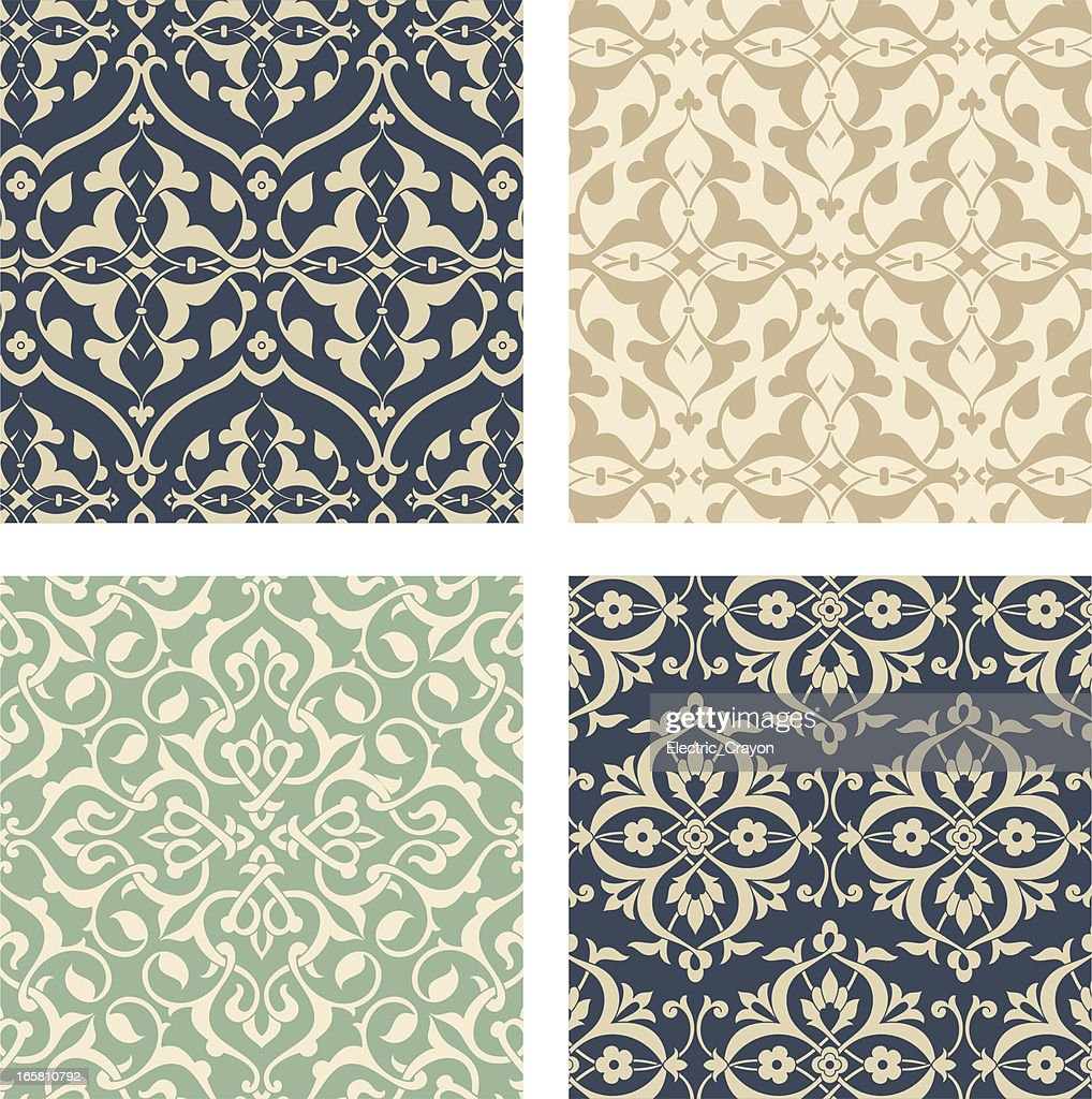 Arabesque Pattern Set