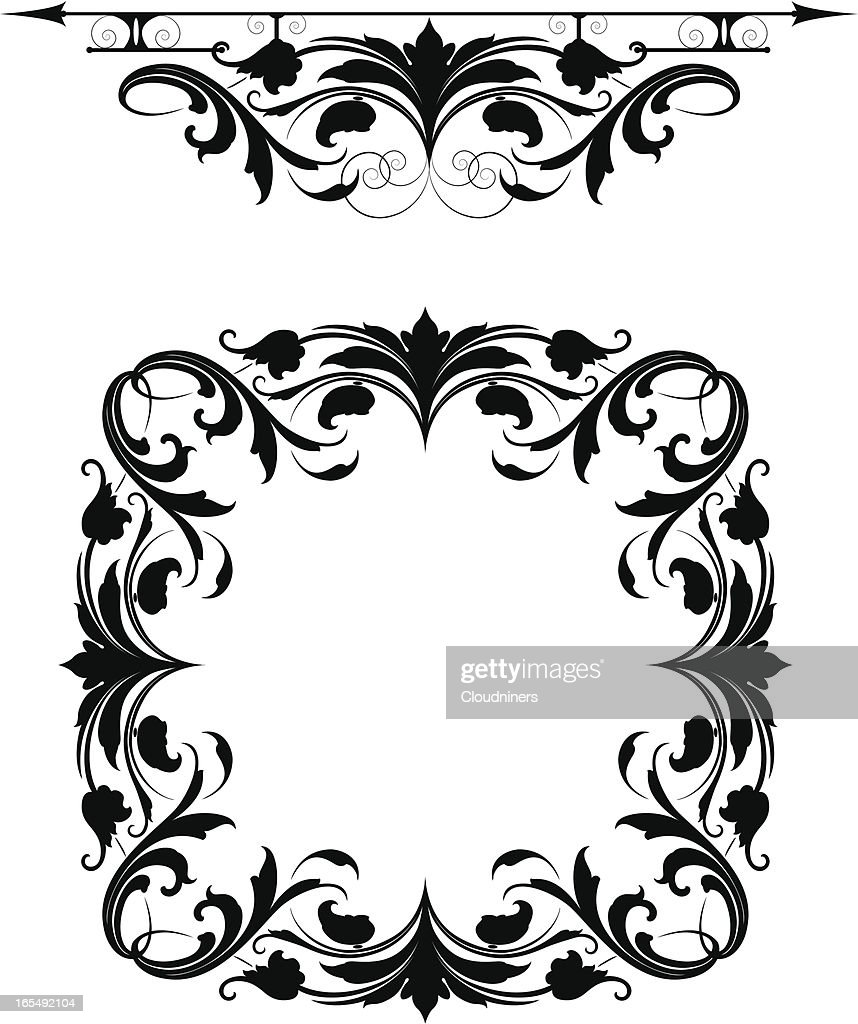 Arabesque Rule And Frame Vector Art | Getty Images