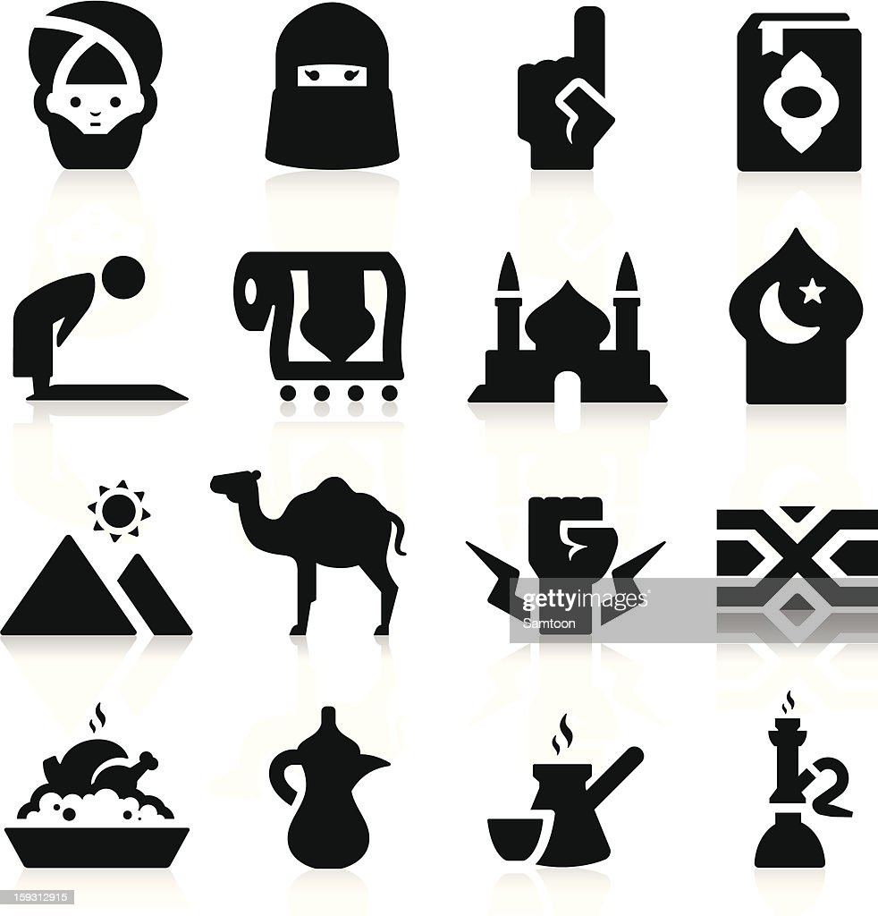 Arabian Culture Icons
