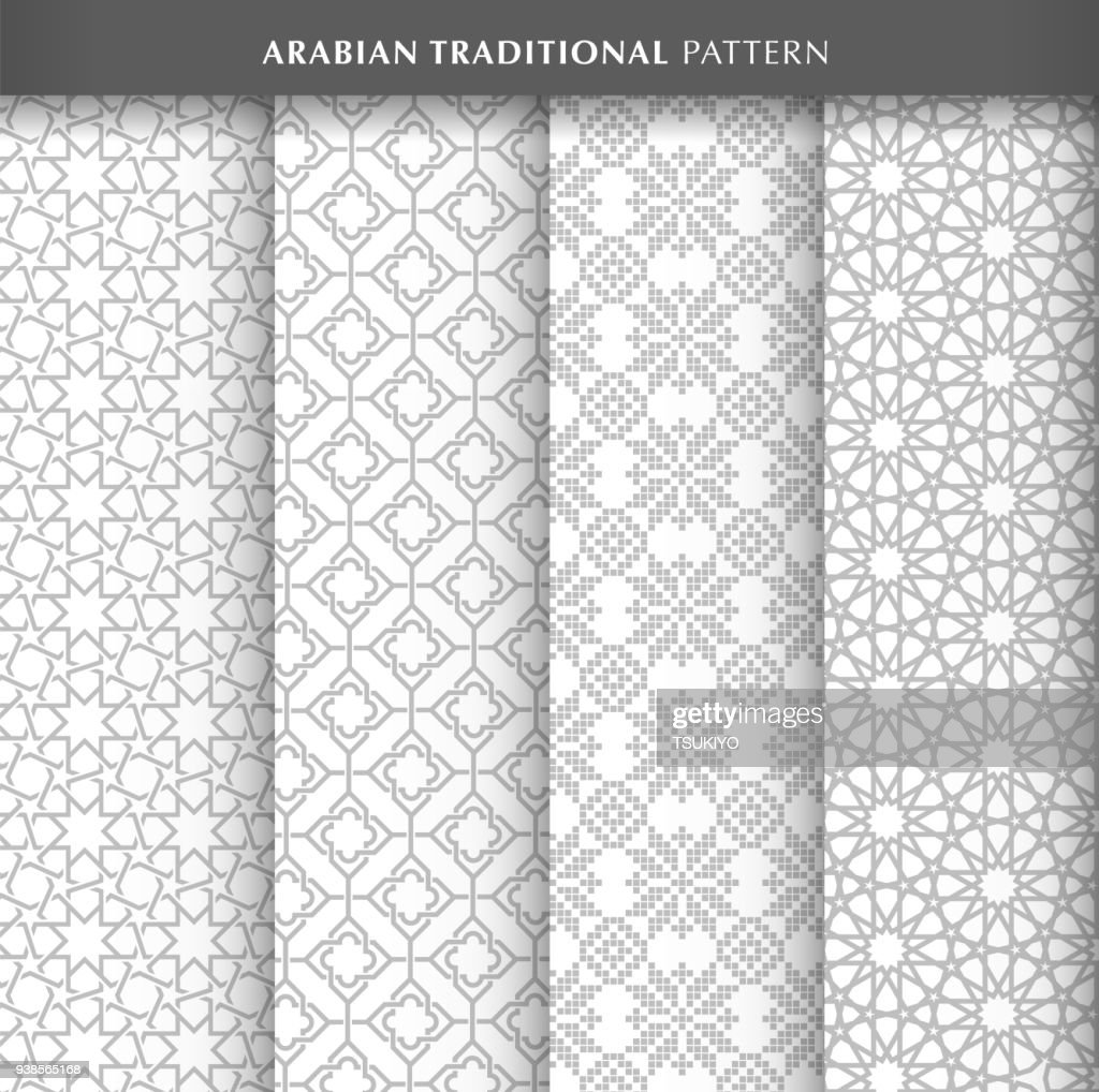 Arabian pattern design