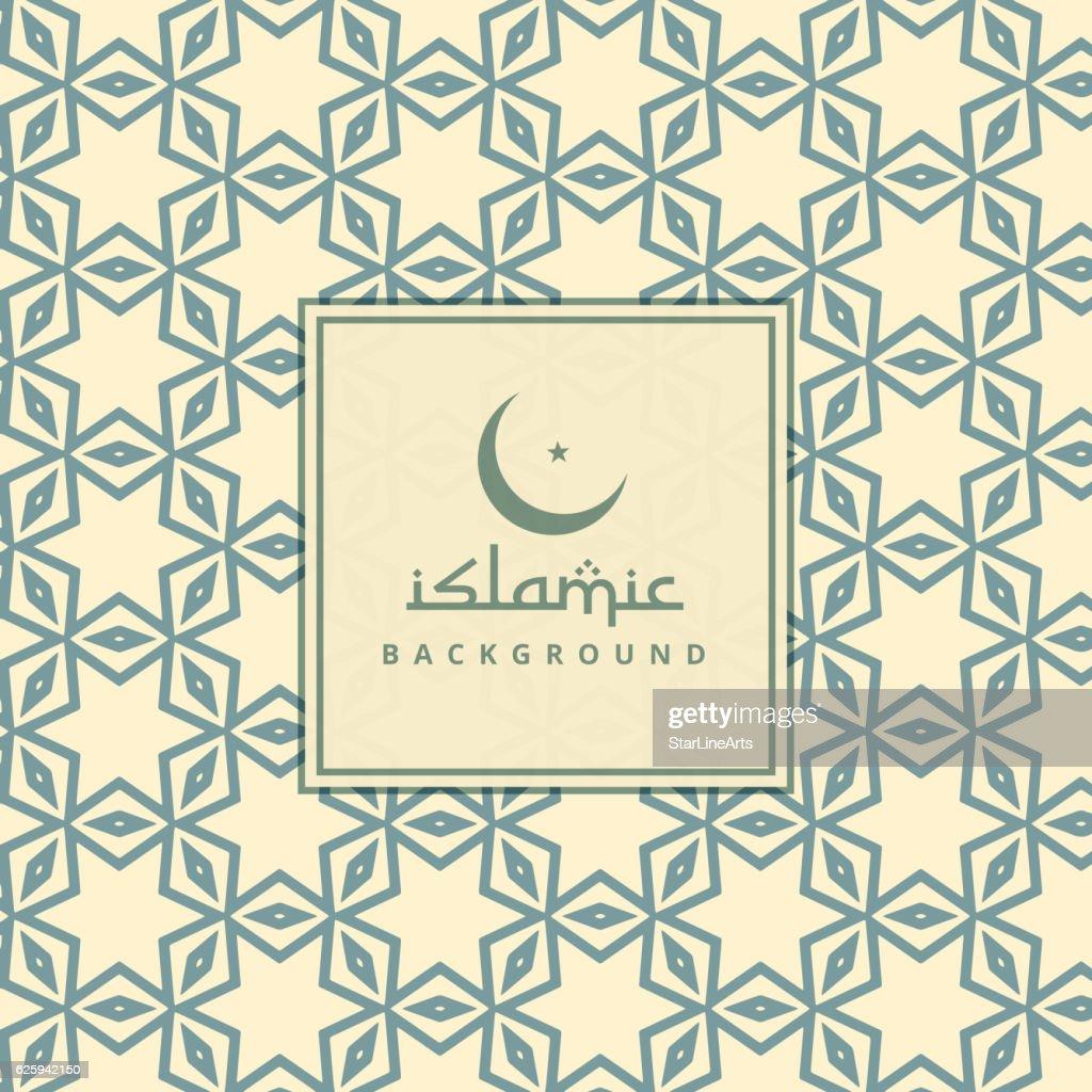 arabic culture pattern background