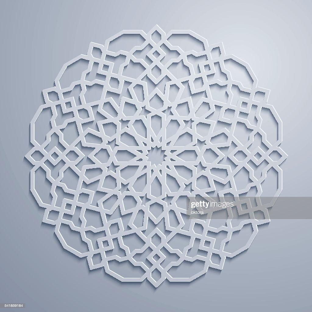 Arabic geometric pattern