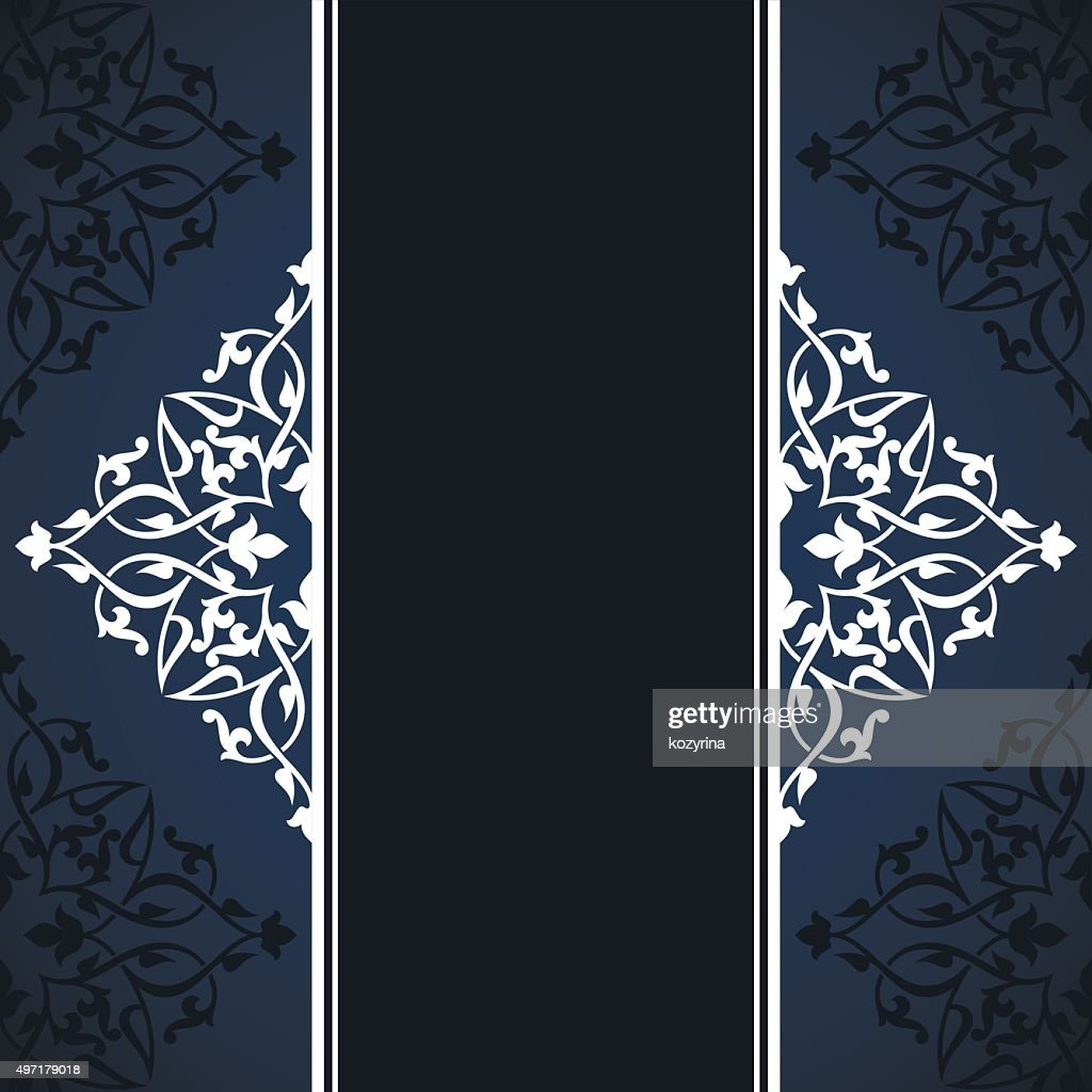 Arabic Invitation Card High Res Vector Graphic Getty Images