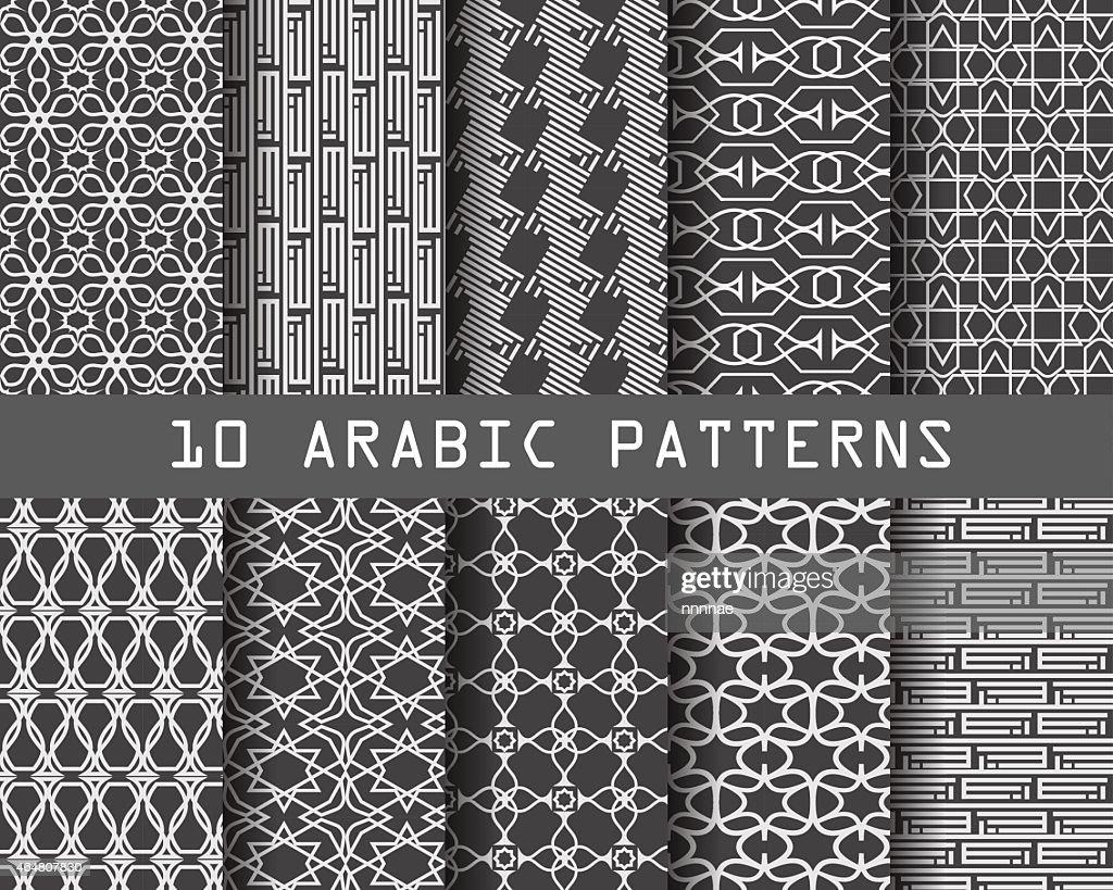 arabic pattern