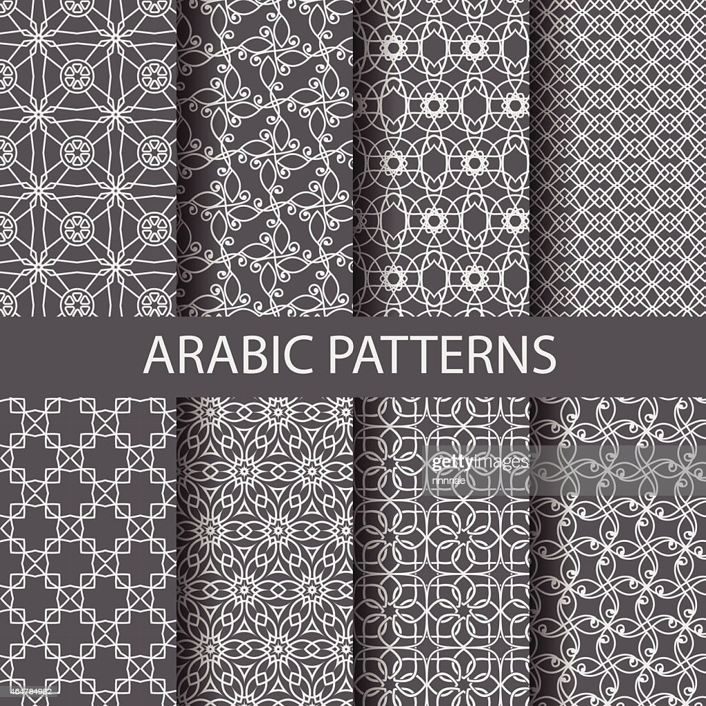 8 arabic patterns