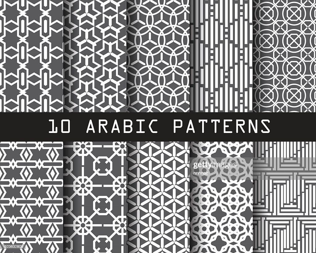 10 arabic patterns1