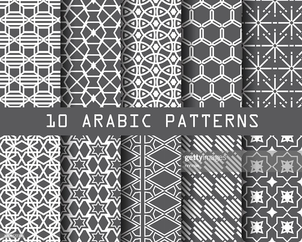 10 arbic patterns 3
