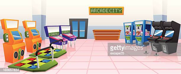 World S Best Amusement Arcade Stock Illustrations Getty Images