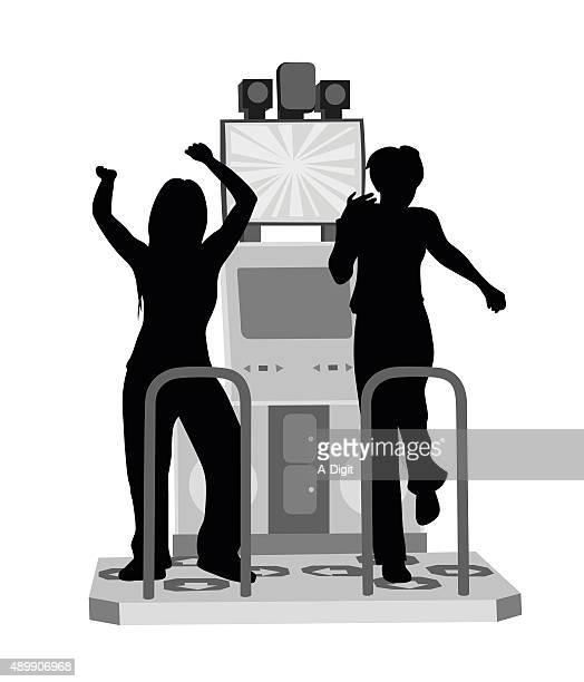 Arcade Dancing Challenge