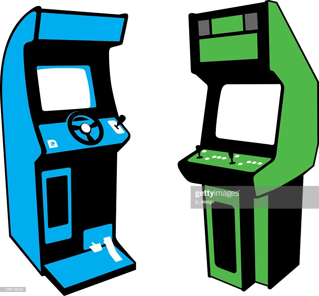 Arcade games : stock illustration