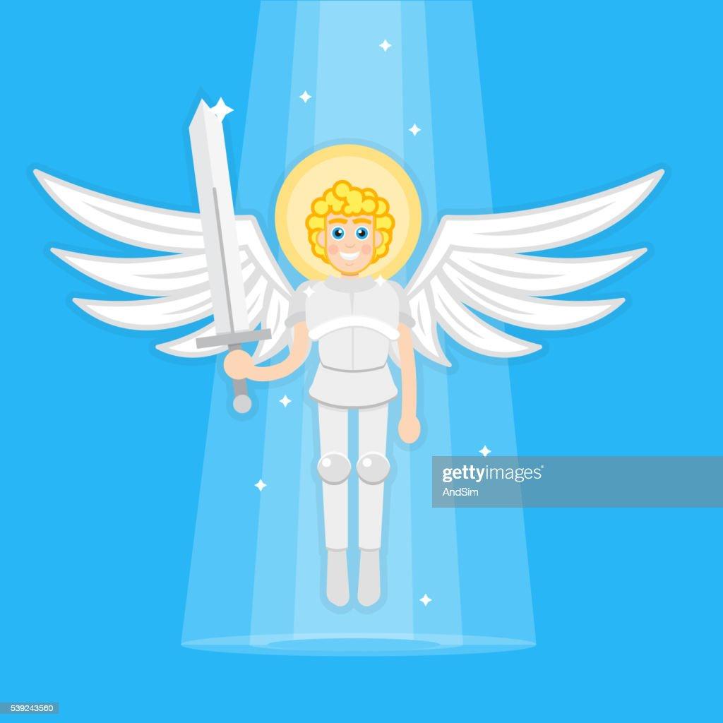 Archangel with sword