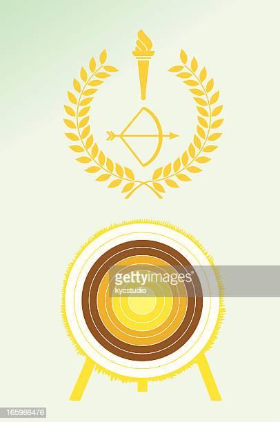 Archery poster and emblem